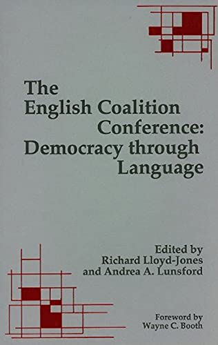 The English Coalition Conference: Democracy through Language: Lloyd-Jones, Richard and