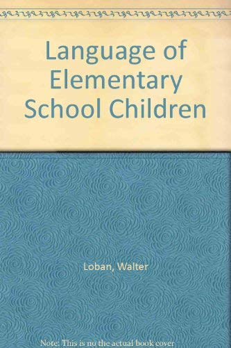 9780814126905: Language of Elementary School Children