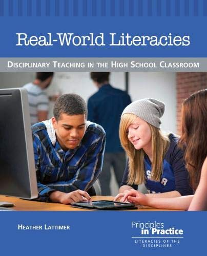 9780814139431: Real-World Literacies: Disciplinary Teaching in the High School Classroom