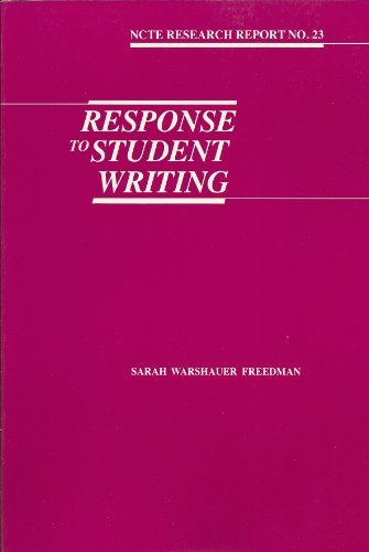 Response to Student Writing