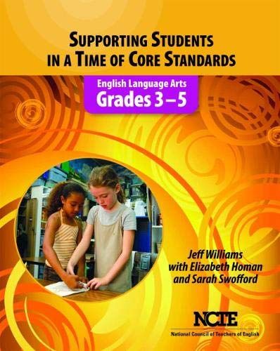 Supporting Students in a Time of Core: Jeff Williams, Elizabeth
