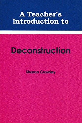 9780814150146: Teacher's Introduction to Deconstruction (Ncte Teacher's Introduction Series)