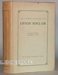 The Literary Manuscripts of Upton Sinclair