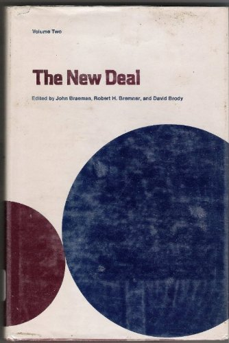 9780814202012: The New Deal: Volume One - The National Level; Volume Two - the State and Local Levels.