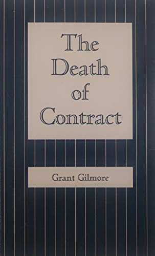 9780814202678: Death of Contract (Law forum series)