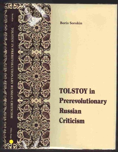 9780814202951: Tolstoy in Prerevolutionary Russian Criticism