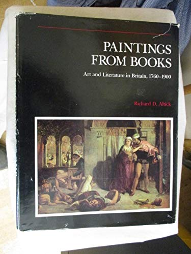 9780814203804: Paintings from Books: Art and Literature in Britain, 1760-1900