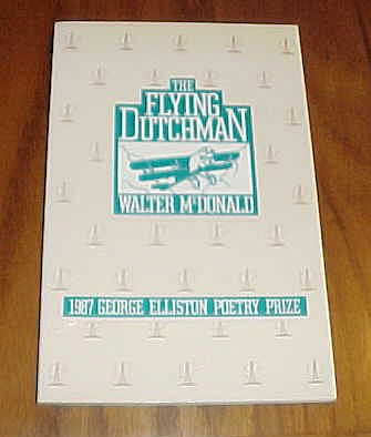 9780814204412: The Flying Dutchman (George Elliston poetry prize)
