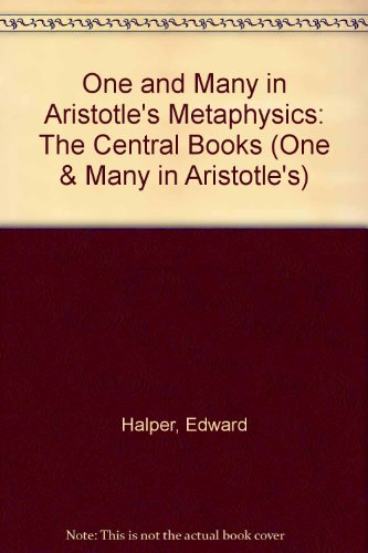 9780814204566: One and Many in Aristotle's Metaphysics (One & Many in Aristotle's)