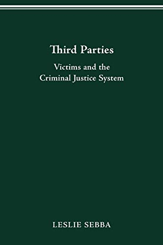 9780814206683: Third Parties: Victims and the Criminal Justice System