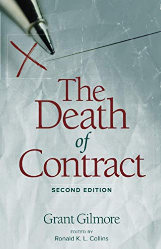 9780814206768: DEATH OF CONTRACT: SECOND EDITION