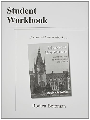 9780814206874: Student Workbook to Use With Discover Romanian: An Introduction to the Language and Culture