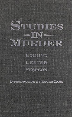 9780814208199: STUDIES IN MURDER
