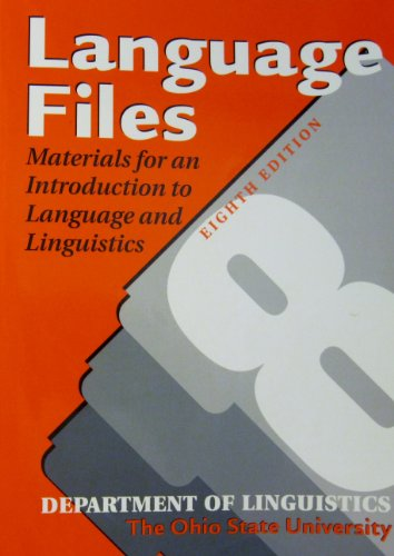 9780814208762: Language Files: Materials for an Introduction to Language & Linguistics
