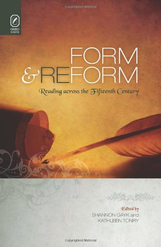 9780814211632: Form and Reform: Reading across the Fifteenth Century (Interventions: New Studies Medieval Cult)
