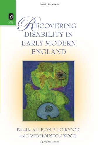 9780814212158: Recovering Disability in Early Modern England
