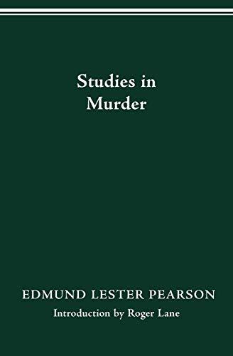 9780814250228: STUDIES IN MURDER