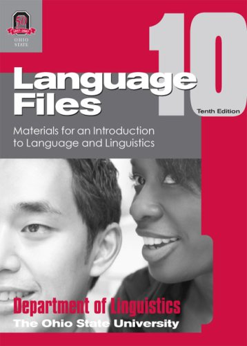9780814251638: Language Files 10th Edition: Materials for an Introduction to Languag