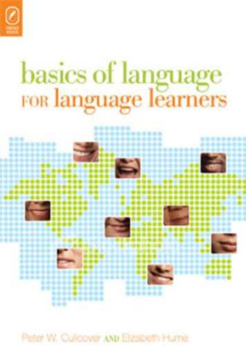 9780814251720: Basics of Language for Language Learners