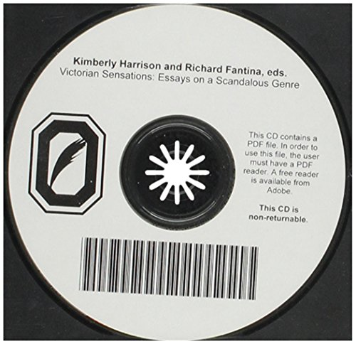VICTORIAN SENSATIONS: ESSAYS ON A SCANDALOUS GENRE: KIMBERLY HARRISON; RICHARD