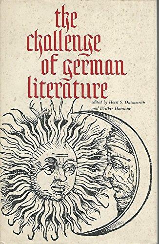 9780814314357: Challenge of German Literature