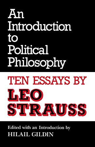 9780814319024: An Introduction to Political Philosophy: Ten Essays by Leo Strauss (Culture of Jewish Modernity)