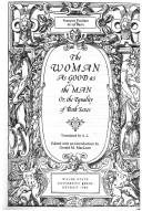 9780814319536: Woman As Good as the Man: Or, the Equality of Both Sexes (Men Who Wrote About Women)