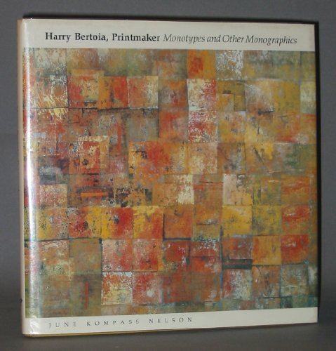 9780814319642: Harry Bertoia, Printmaker: Monotypes and Other Monographics (Great Lake Books Series)