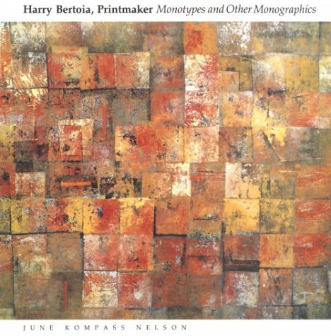 9780814320631: Harry Bertoia, Printmaker: Monotypes and Other Monographics (Great Lakes Books)