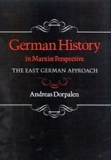 9780814320761: German History in Marxist Perspective