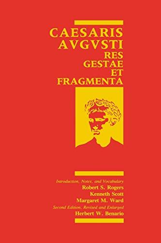 9780814321386: Caesaris Augusti: Res Gestae Et Fragmenta