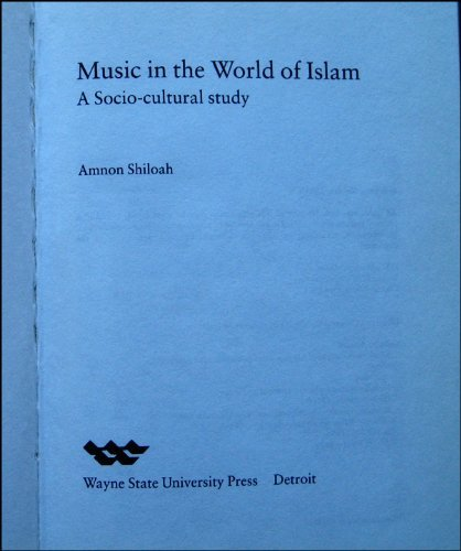 9780814325896: Music in the World of Islam: A Socio-Cultural Study