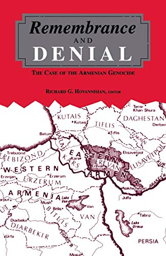 9780814327777: Remembrance and Denial: The Case of the Armenian Genocide (Armenian Studies)
