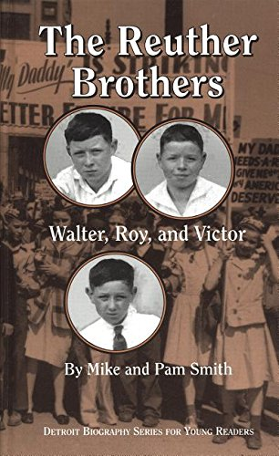 9780814329948: The Reuther Brothers: Walter, Roy, and Victor (Great Lakes Books Series)