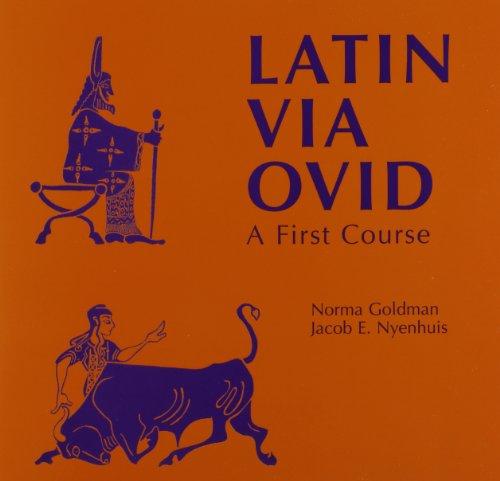 Latin Via Ovid: Audio Materials: Norma Goldman; Jacob