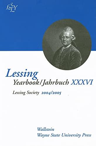 9780814332641: Lessing Yearbook/Jahrbuch XXXVI