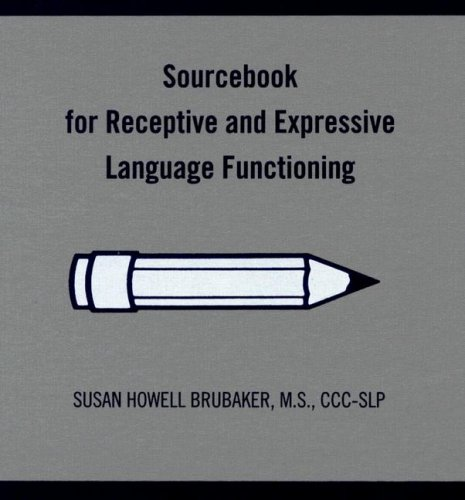 9780814333143: Sourcebook for Receptive and Expressive Language Functioning