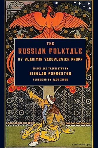 9780814334669: The Russian Folktale by Vladimir Yakovlevich Propp (Series in Fairy-Tale Studies)