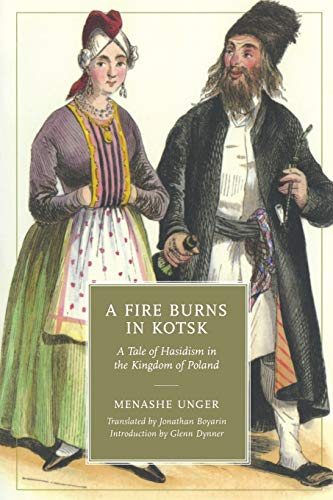 9780814338131: A Fire Burns in Kotsk: A Tale of Hasidism in the Kingdom of Poland