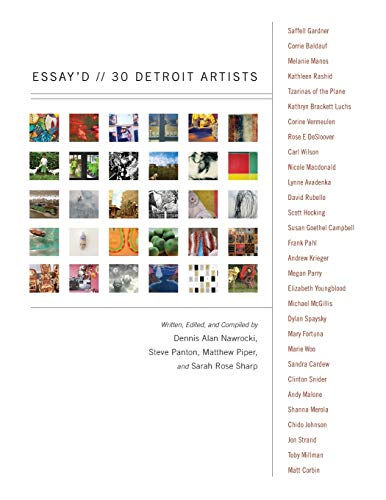 Essay'd: 30 Detroit Artists (Painted Turtle): Panton, Steve, Piper,