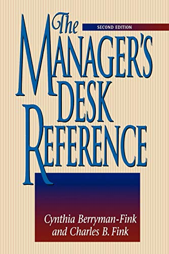 9780814400395: The Manager's Desk Reference