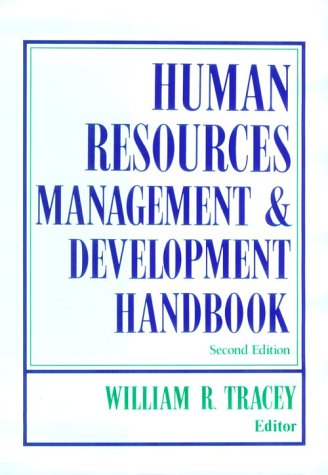 9780814401163: Human Resources Management & Development Handbook