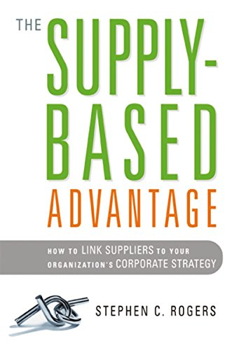 9780814401552: The Supply-Based Advantage: How to Link Suppliers to Your Organization's Corporate Strategy