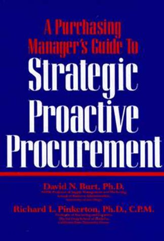 9780814402887: A Purchasing Manager's Guide to Strategic Proactive Procurement