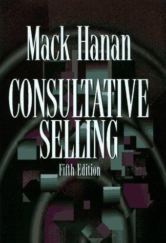 9780814403037: Consultative Selling