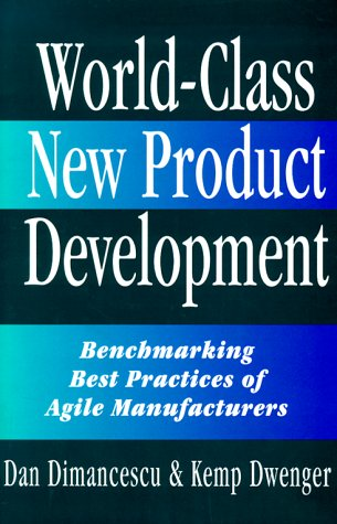 9780814403112: World-Class New Product Development: Benchmarking Best Practices of Agile Manufacturers