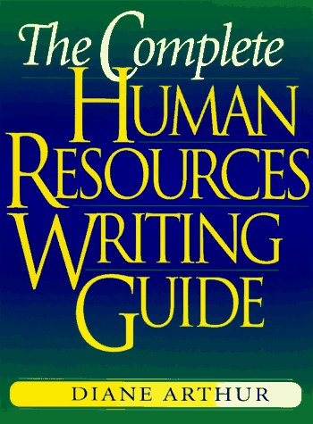 9780814403259: Complete Human Resources Writing Guide