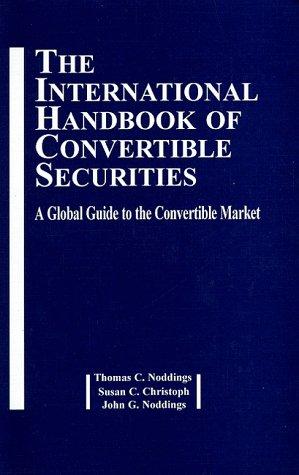 9780814404379: International Handbook of Convertible Securities