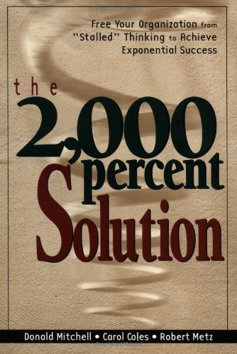 9780814404768: The 2000 Percent Solution: Free Your Organization from