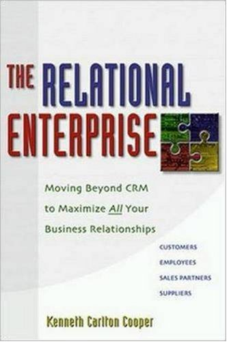 The Relational Enterprise: Moving Beyond CRM to: Kenneth Carlton Cooper